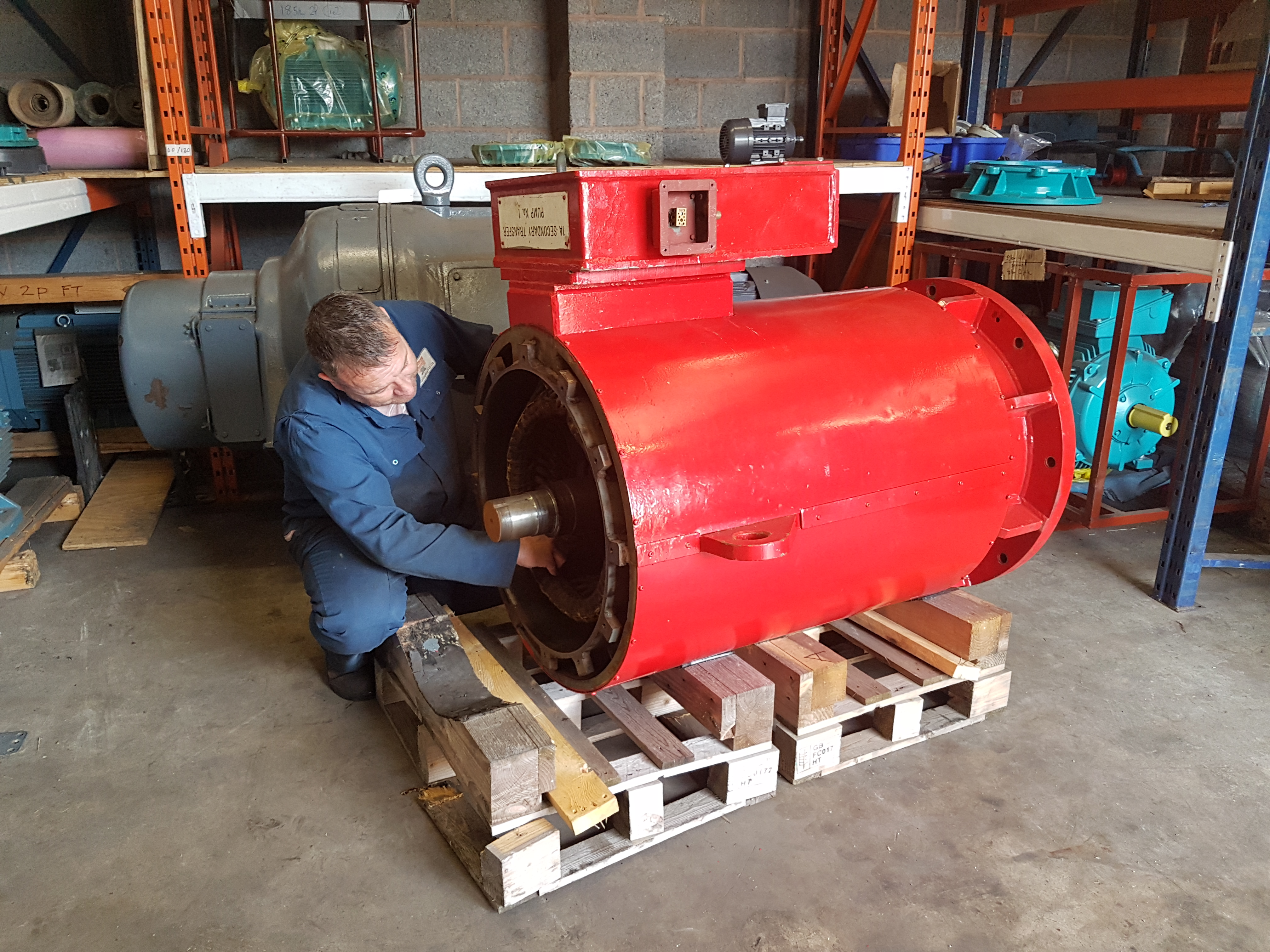 Francis Chambers - Electrical Motor Engineers Rotheham, South Yorkshire